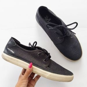 Andrew Marc grey sneakers shoes size 9.5
